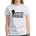 Revolution Breakfast For Dinner Women's T-Shirt