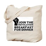 Revolution Breakfast For Dinner Tote Bag