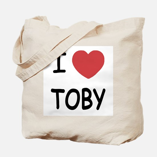 I heart TOBY Tote Bag