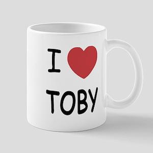 I heart TOBY Mug