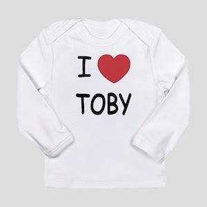 I heart TOBY Long Sleeve Infant T-Shirt