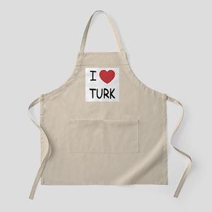 I heart TURK Apron