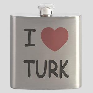 I heart TURK Flask