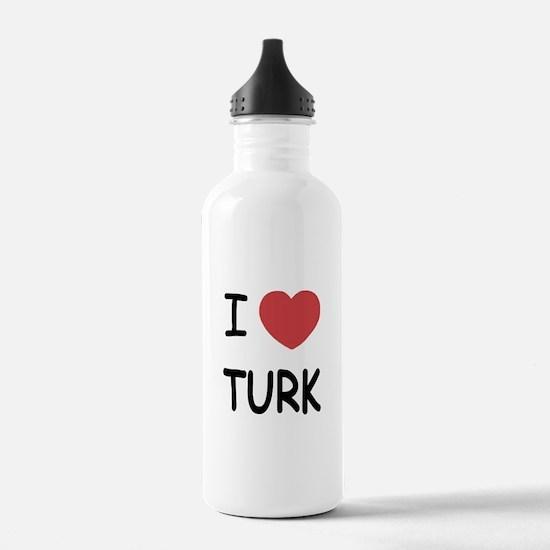 I heart TURK Water Bottle