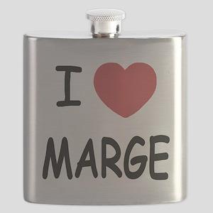 I heart MARGE Flask