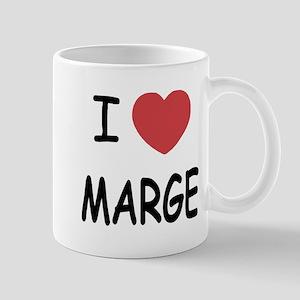 I heart MARGE Mug