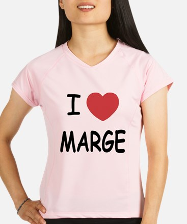I heart MARGE Performance Dry T-Shirt