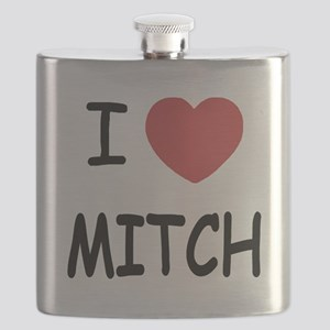 I heart MITCH Flask