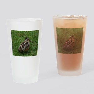 American Woodcock Drinking Glass