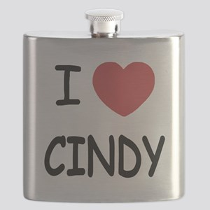 I heart CINDY Flask