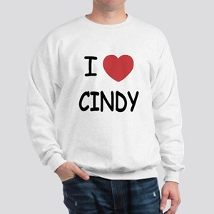 I heart CINDY Sweatshirt