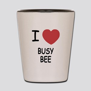 I heart BUSY BEE Shot Glass