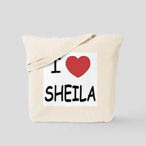 I heart SHEILA Tote Bag