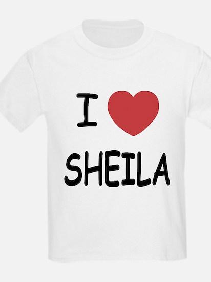 I heart SHEILA T-Shirt