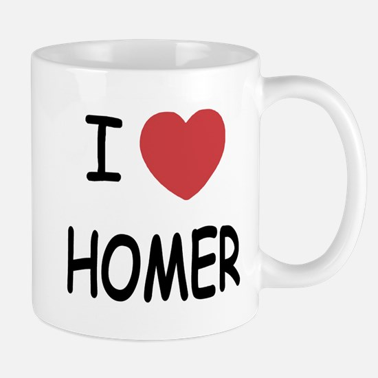 I heart HOMER Mug
