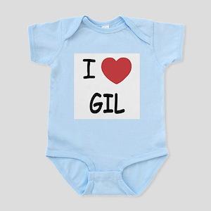 I heart GIL Infant Bodysuit