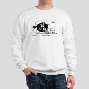 Turntable Diagram Sweatshirt