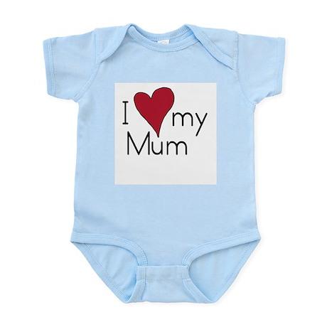 I Love Mum Infant Creeper