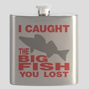 BIG FISH WALLEYE Flask