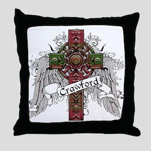 Crawford Tartan Cross Throw Pillow