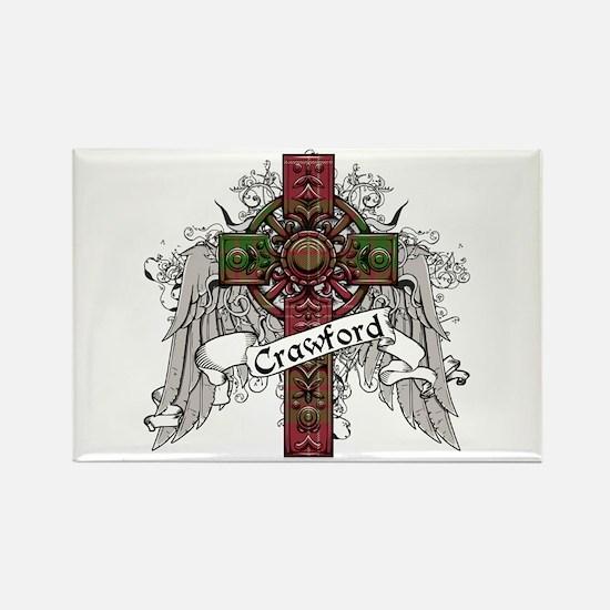 Crawford Tartan Cross Rectangle Magnet
