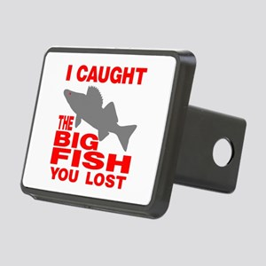 BIG FISH WALLEYE Rectangular Hitch Cover