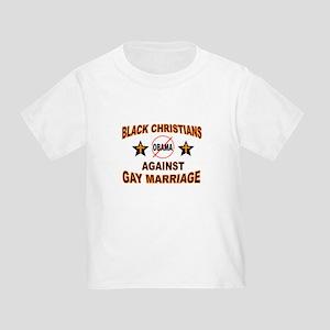 BLACK CHRISTIANS Toddler T-Shirt