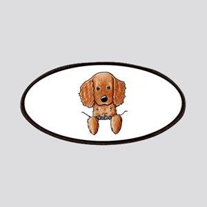 Pocket Irish Setter Pup Patches