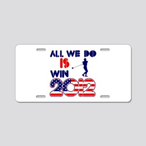 USA Hammer Designs Aluminum License Plate