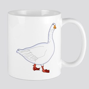 White Goose Mug