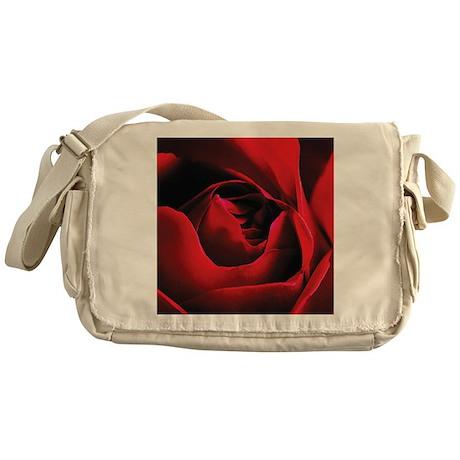 Rose (Detail) Messenger Bag