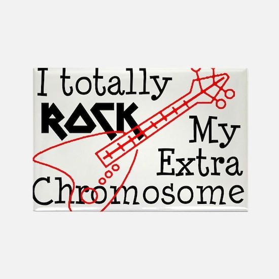 Rockin Chromosome Rectangle Magnet (100 pack)