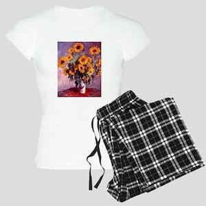 Claude Monet Sunflowers Women's Light Pajamas