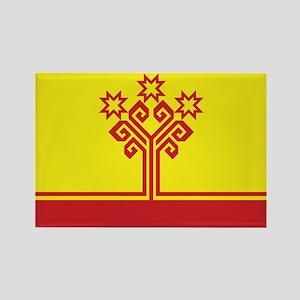 Chuvashia Flag Rectangle Magnet