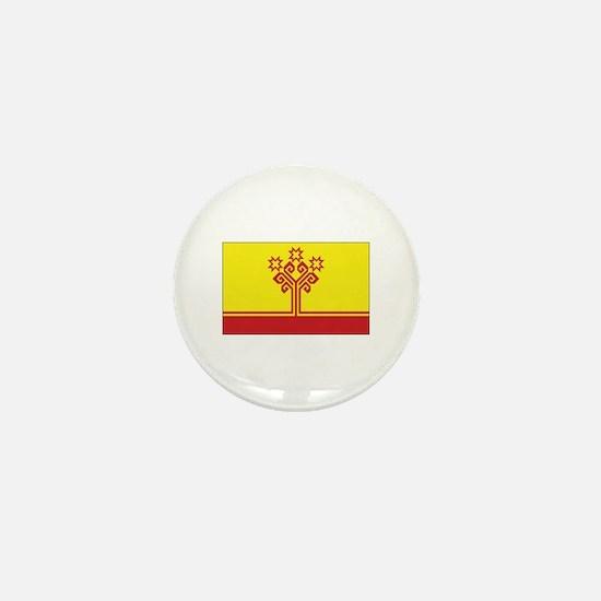 Chuvashia Flag Mini Button