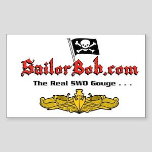 Sailor Bob Rectangle Sticker