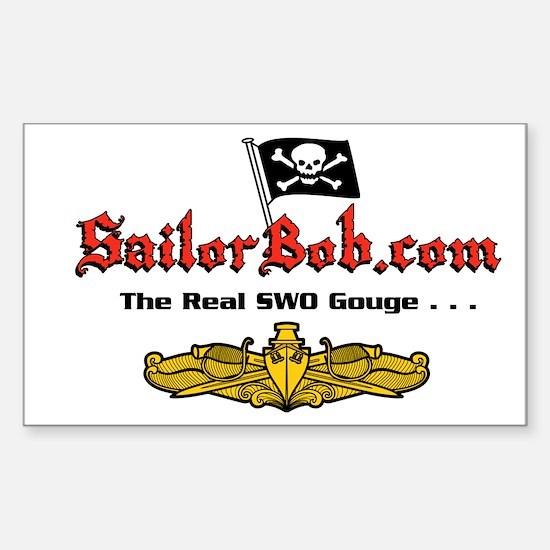 Sailor Bob Rectangle Decal