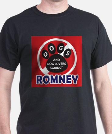 Dogs hate Romney! T-Shirt