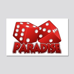 Paradise 20x12 Wall Decal
