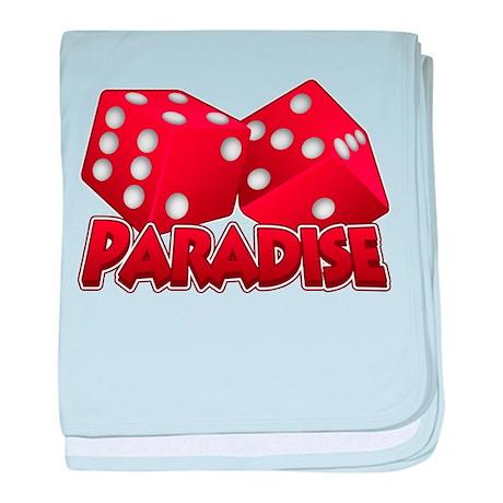 Paradise baby blanket