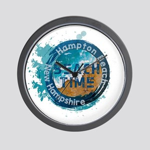 New Hampshire - Hampton Beach Wall Clock