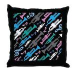 Fun Trumpet Player Gift Throw Pillow