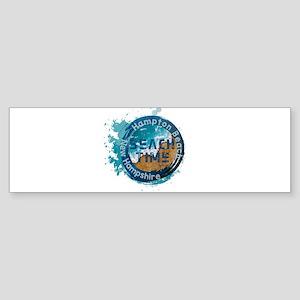 New Hampshire - Hampton Beach Bumper Sticker