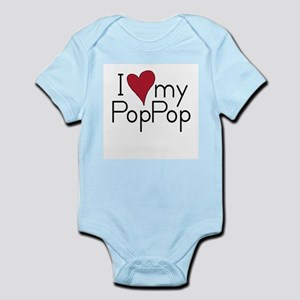 I Love my PopPop Infant Creeper