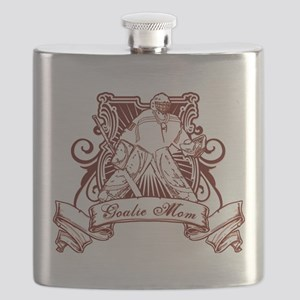 Goalie Mom Flask
