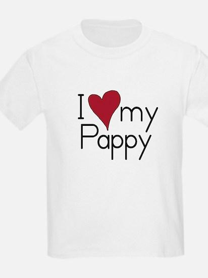 I Love my Pappy Kids T-Shirt