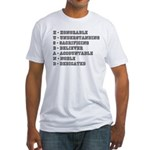 HUSBAND Athletic Fitted T-Shirt