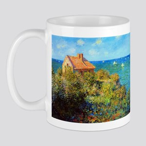 Claude Monet Fisherman's Cottage Mug