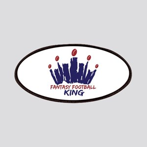 Fantasy Football King Patches