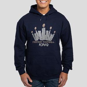 Fantasy Football King Hoodie (dark)